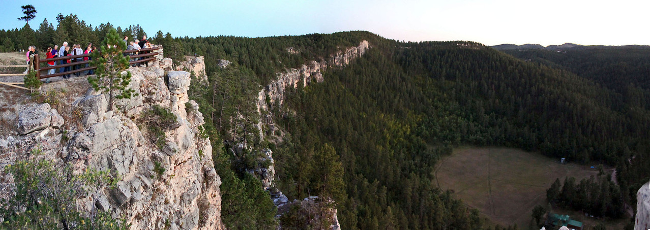 Here's a panoramic view of this special spot in the Black Hills.  Click on the image and get a closer look!