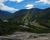 Cannon Mountain and the ski slopes
