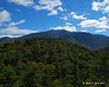 The open areas of trail higher up on Bald Mountain give some views down to Franconia Range