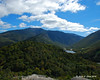 View to Franconia Range and Franconia Notch from the summit of Bald Mountain