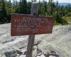 At the summit of Baldpate Mountain's East Peak. <b>#100!</b>