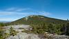 Panoramic shot showing the East Peak