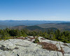 The summit of Baldpate Mtn looking east