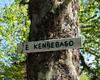 East Kennebago summit sign