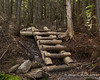 A short steeper set of stairs
