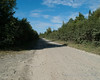 The start of the hike is about 8 miles up this dirt road... Success Pond Road
