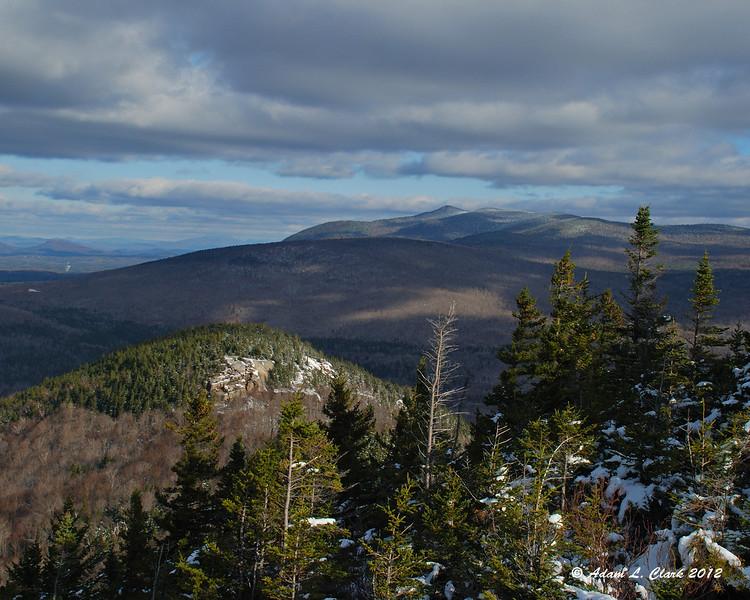Looking north over North Sugarloaf towards Mt. Martha