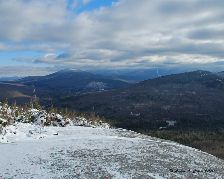 View east towards the Presidential Range