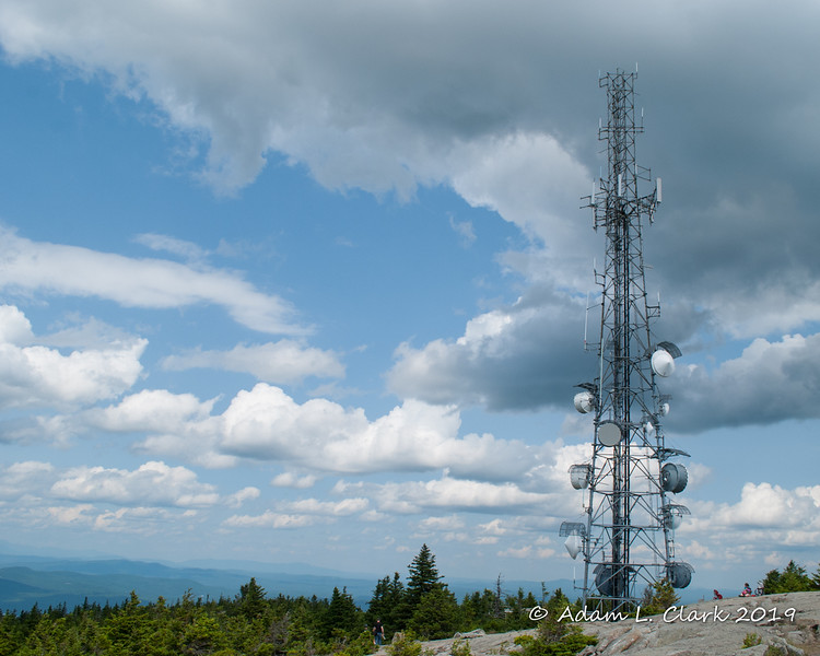 The other tower at the summit
