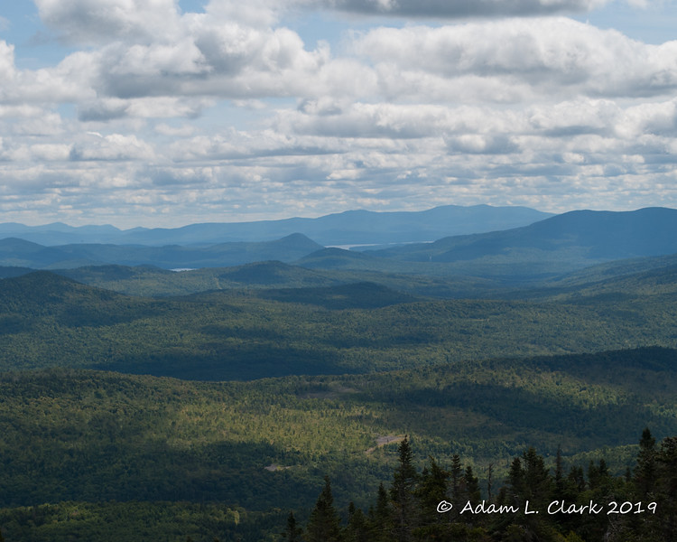 View towards Maine from the summit tower