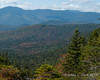 Leaves are turning down in the valleys of the Pemigewasset Wilderness