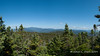 Panoramic shot of the view from Mt. Nancy