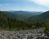 View from the talus field.  I took a nice break here to have something to eat and clean some spruce needles off of me