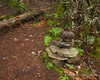 A small cairn marks the high point of South Weeks as well