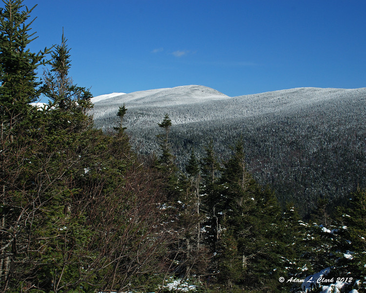 Looking up the Presidential Range