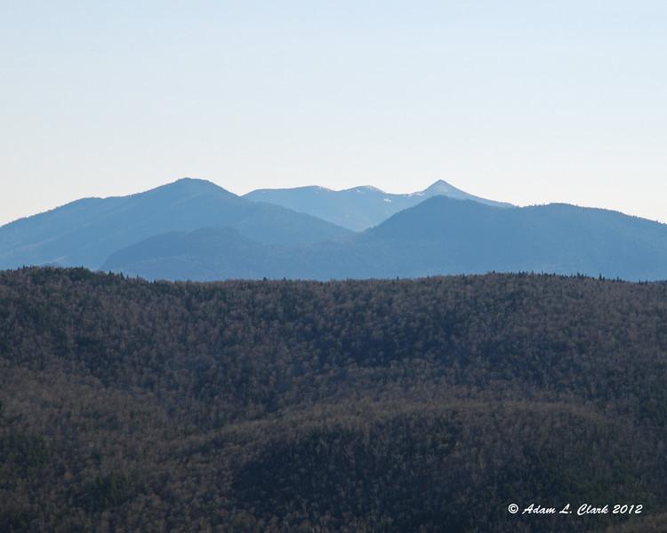 Mountains near Conway seen down through the notch