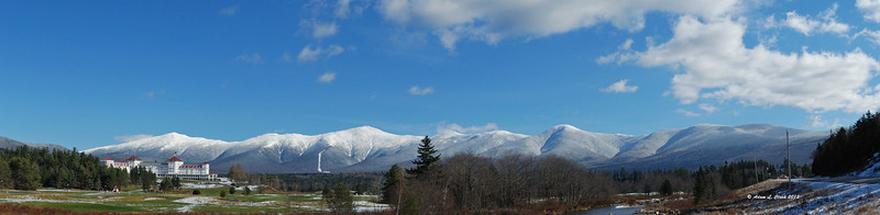Presidential Range from Route 302