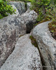 Another look at the boulders the trail goes over