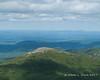 A shorter summit to the northwest