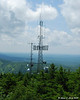 Some of the towers at the summit.