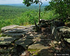 The first lookout on the Wapack trail.
