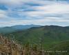 The view past Mt. Hale