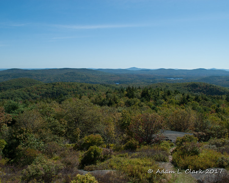 View east from the fire tower