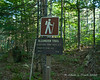 Algonquin Trail sign