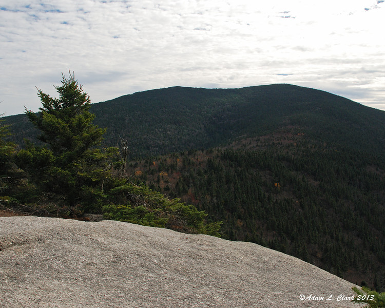 From the summit of Jennings Peak, a look back to Sandwich Dome