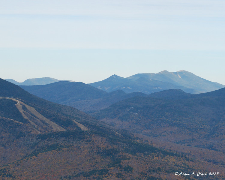 The peaks of Franconia Notch