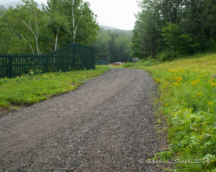 Like most hikers, I started at the base of Loon Mountain resort and followed the access path to the ski trails