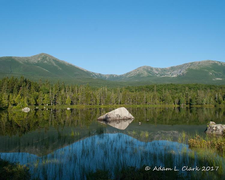 Mt. Katahdin from Sandy Stream Pond