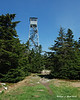 If there is a fire tower, you have to climb it