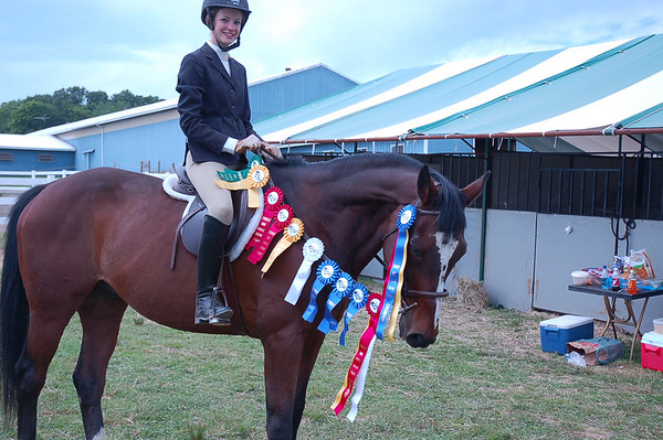 Erin's first showing on Noel, 2006