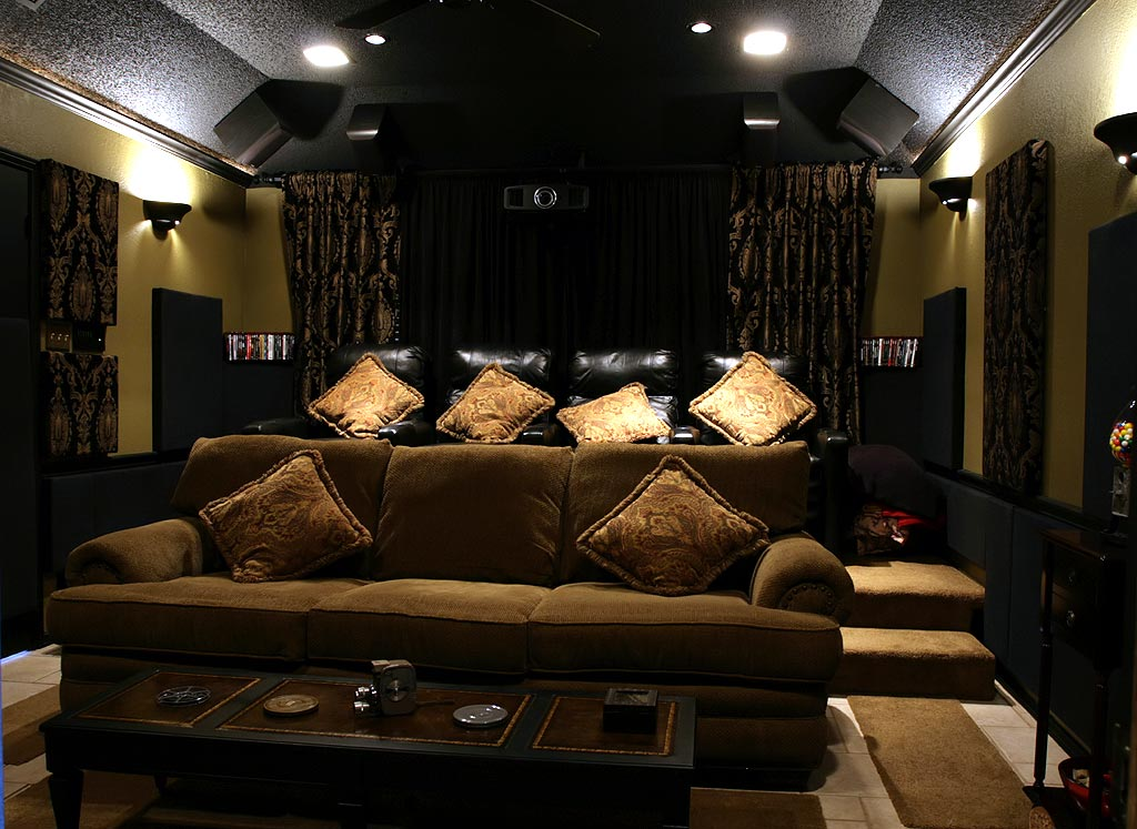 Den to Home Theater Conversion