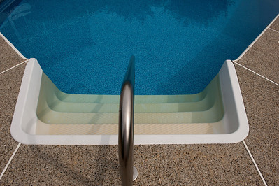 Pool Step Stain Removal