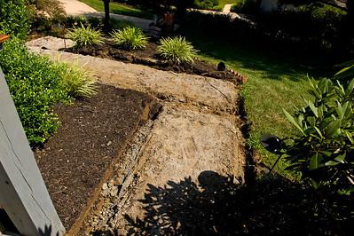 Day 1: July 26, 2011 - demolition begins!