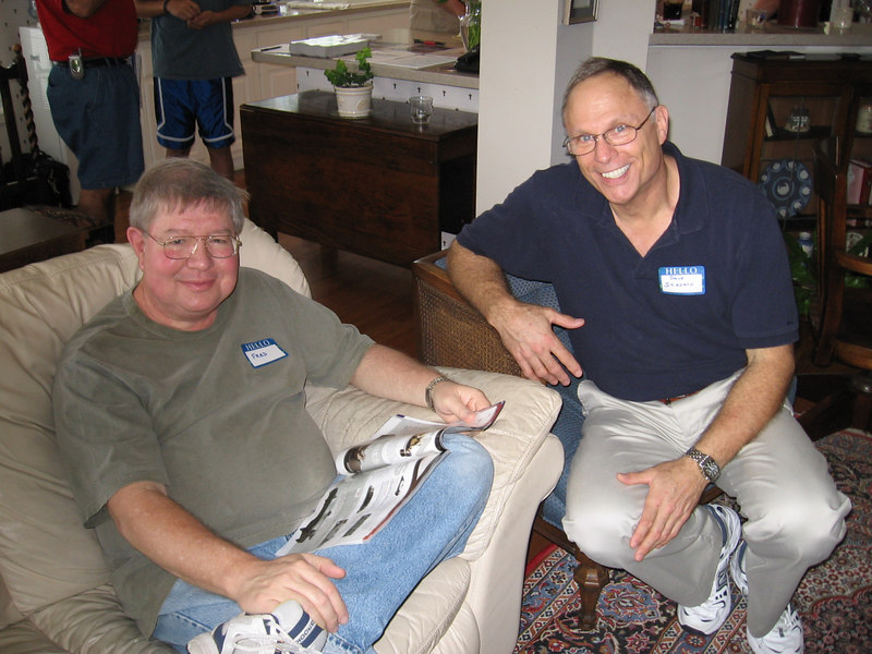 Fred Crowder and David Stanard