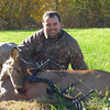 I harvested this doe on November 7th, 2008 with my Elite Z28, Victory Arrows, and a Slick Trick broadhead in Franklin County IL.