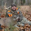 I shot this buck on December 6th, 2008 with my H and R Topper shotgun in Saline County IL.