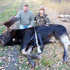 Moose, harvested by Jane Mitchell, Carl Junction, in Alberta, Canada.