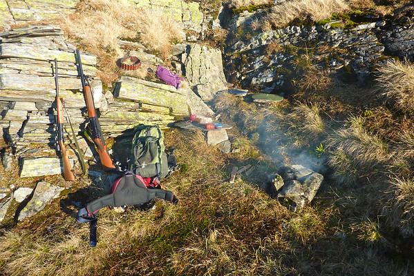Frå ein jakttur på Kvålsdalsfjellet.. 11.11.2011.