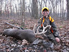 2012 Season is here and Jacob scores again.  A nice 8pt buck for him on opening night of IL gun season.  At 10yrs old he's bagged 5 deer!