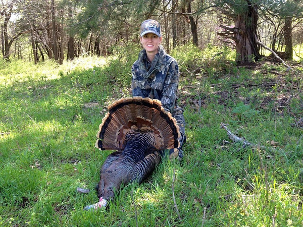 The Globe's own Andra Stefanoni bagged her first turkey on her 43rd birthday.