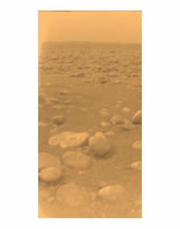 Images from Titan - Saturn's Moon