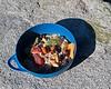 Trail breakfast. Just add boiling water.