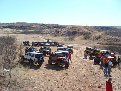 2009/01 John Collins Jeep Run - Canadian River