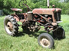 Joe's Farmall Cub with mounted one-row corn and bean planter. Tractor serial number is 34009, making this a 1948 model.