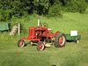 Joe's heirloom Farmall B with new widefront