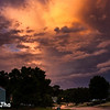 June 2 2013 Late Afternoon, clouds which brought a lot of thunderstorms, giving way to Sun.